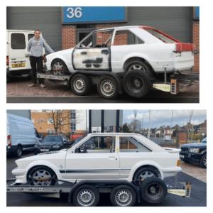 Before & After - Car Repair