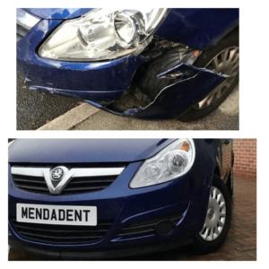 Vauxhall Bumper Repairs