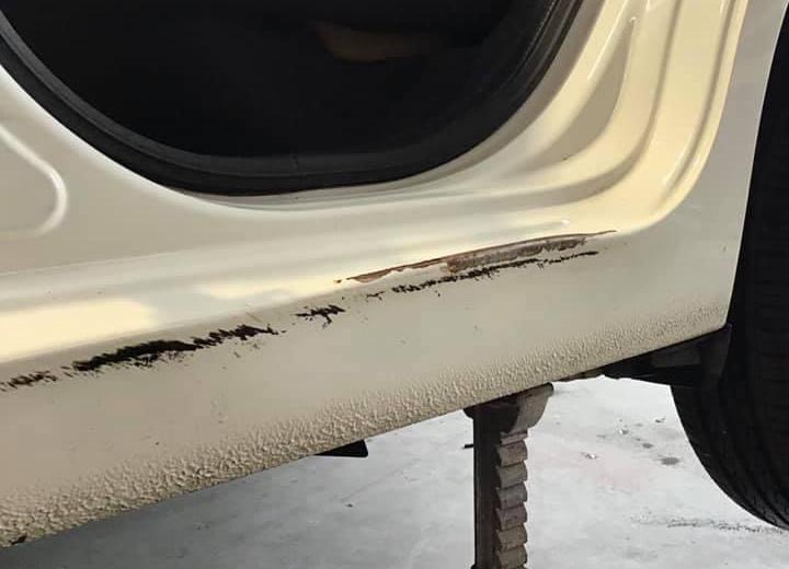 Fix Damaged Car Sill